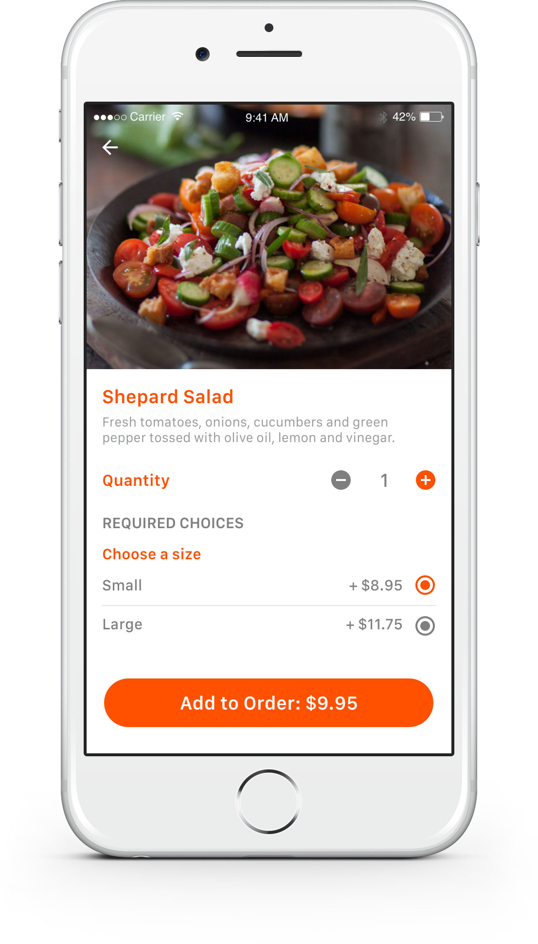 Eatin Food Delivery App – Rashid Mukhtar